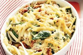 Creamy Chicken Pasta Bake Recipe