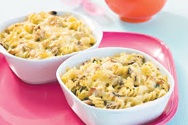Tuna and Mushroom Pasta Bake Recipe
