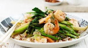 A Delicious Prawn and Asparagus Stir-Fry