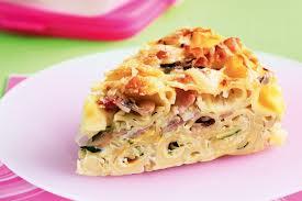 Ham and Vegetable Pasta Bake Recipe