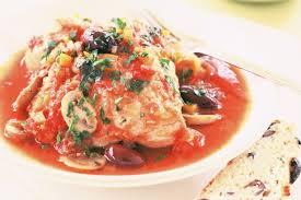 Chicken Cacciatore with Rice