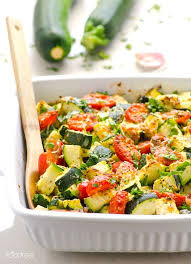 The Zucchini and Tomato Medley Recipe