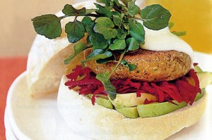 Lentil Burgers great for the health conscious.