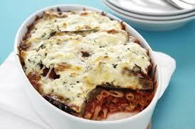 Eggplant Pasta Bake Recipe