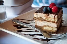 A slice of Italian Tiramisu